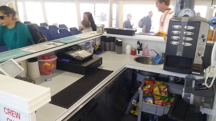 Ferry Galley
