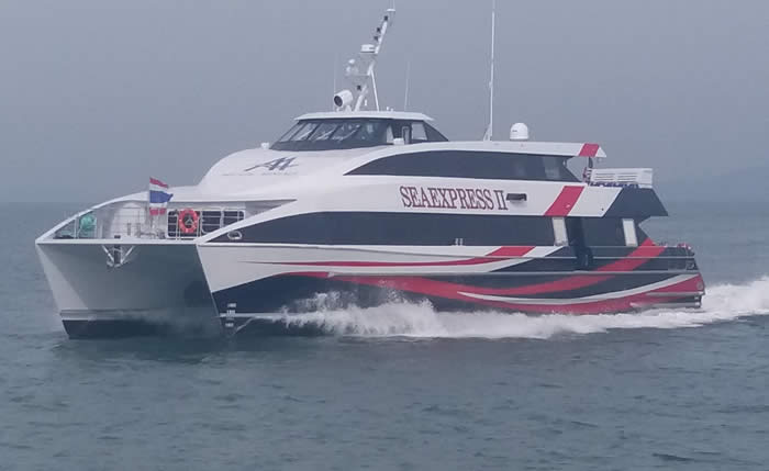 Aluminium Fast Ferry Sea Express 11