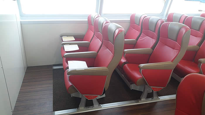 Sea EXpress 11 VIP Cabin Seating