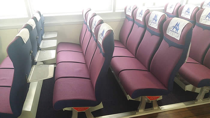 Sea EXpress 11 Main Cabin Seating 1