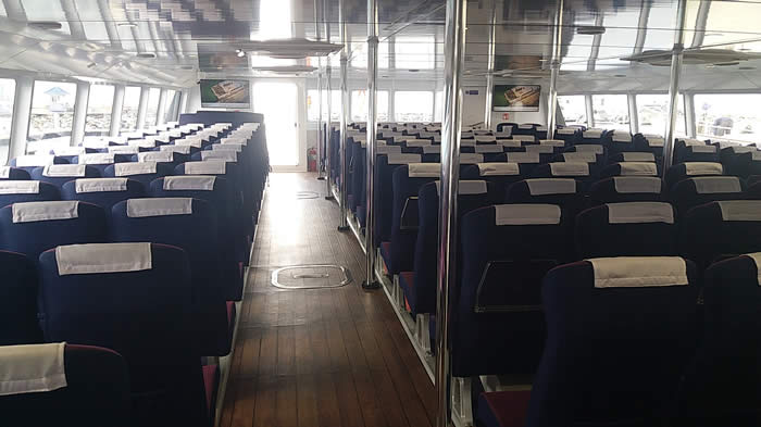 Sea EXpress 11 Main Cabin Seating 3