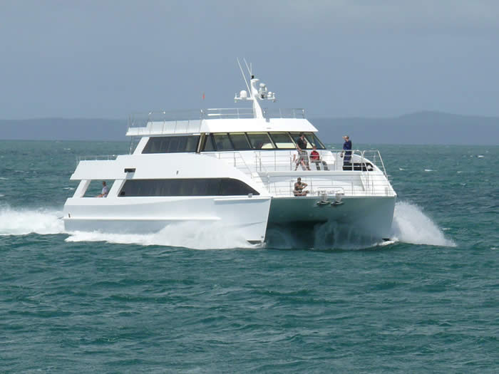 Sea Speed Aluminium Catamaran Design