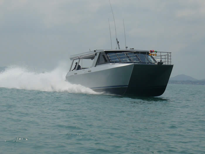 12m Charter Fishing Catamaran  Design