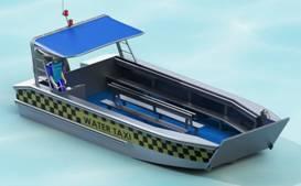 8 5m Aluminium Barge Bargass 880